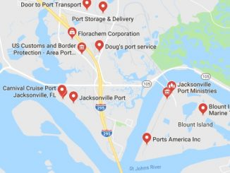 Port Jacksonville JAXPORT Florida Cruise Port Schedule