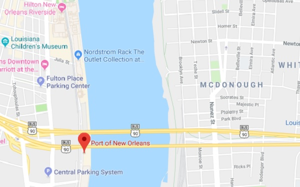 Port of New Orleans Louisiana Cruise Port Schedule